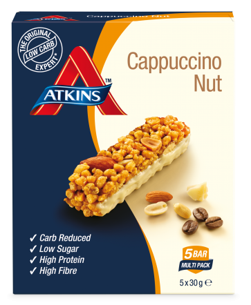 Atkins day break cappuccino nut bar