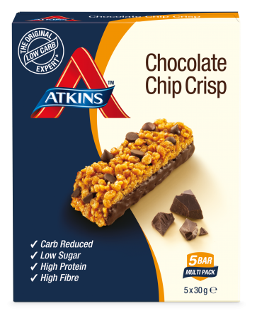 Atkins day break chocolate chip bars