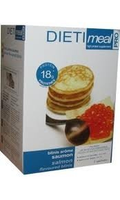 Dietimeal Blinis met zalmsmaak