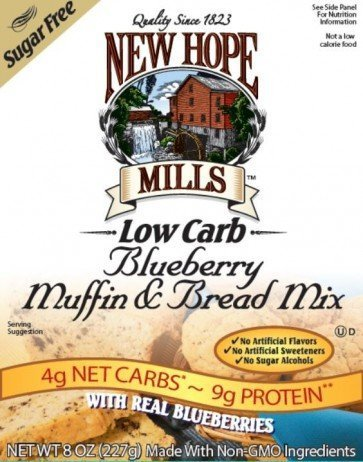 New Hope Mills Muffin en Broodmix Blueberry