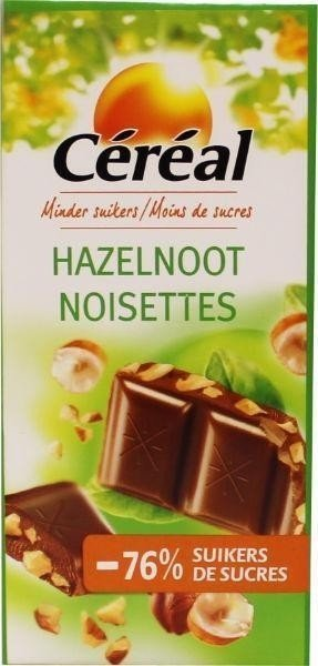 Céréal Chocolade Tablet Hazelnoot