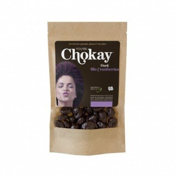 Chokay Dark Cranberries Snack Pack (40 gr)