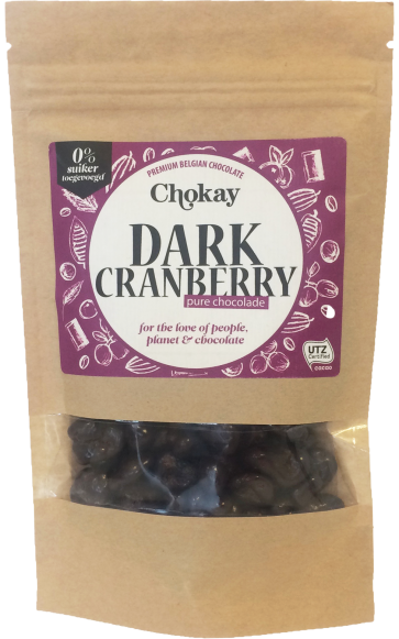 Chokay Dark Cranberries (110 gr)