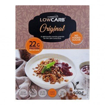 CarbZone Low Carb Granola Original