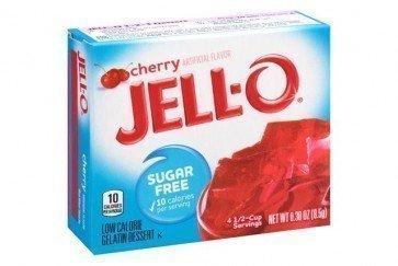 Jello Cherry Gelatine