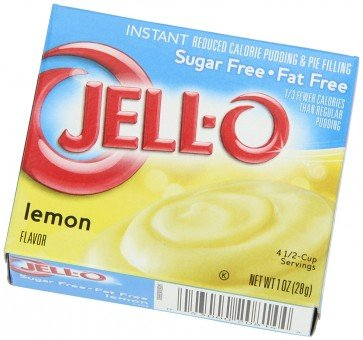 Jello Lemon Pudding