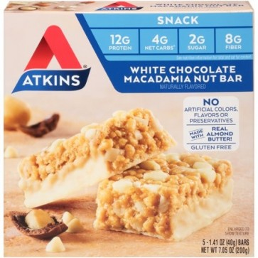 Atkins USA Snack White Chocolate Macadamia Nut