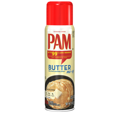 PAM Cooking Spray Butter (botersmaak)