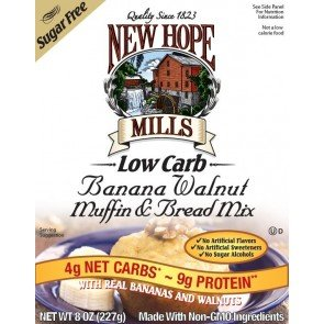 New Hope Mills Muffin en Broodmix Banana Walnut