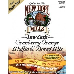 New Hope Mills Muffin en Broodmix Cranberry Orange
