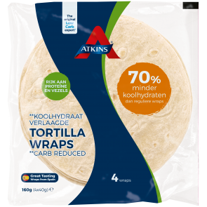 Atkins Tortilla Wrap