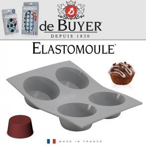 De Buyer Mufffin Vorm Elastomoulle