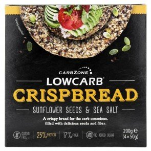 CarbZone Low Carb Crispbread