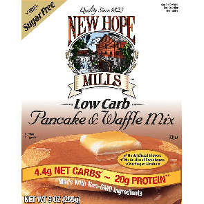 New Hope Mills Suikervrije Pannenkoek- en Wafelmix