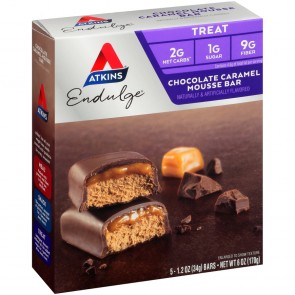 Atkins USA Chocolate Caramel Mousse Repen