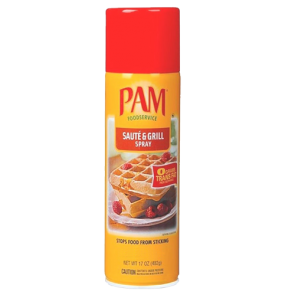 PAM Cooking Spray Saute en Grill