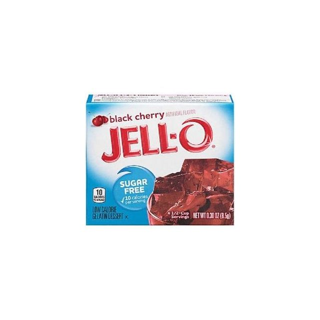 Jello Black Cherry Gelatine