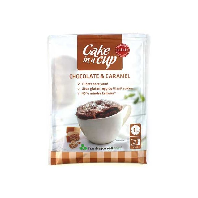 Sukrin Cake in A Cup Chocolade Caramel