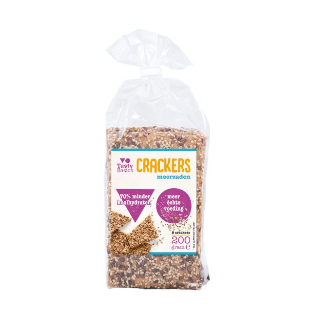 TastyBasics Crackers Meerzaden