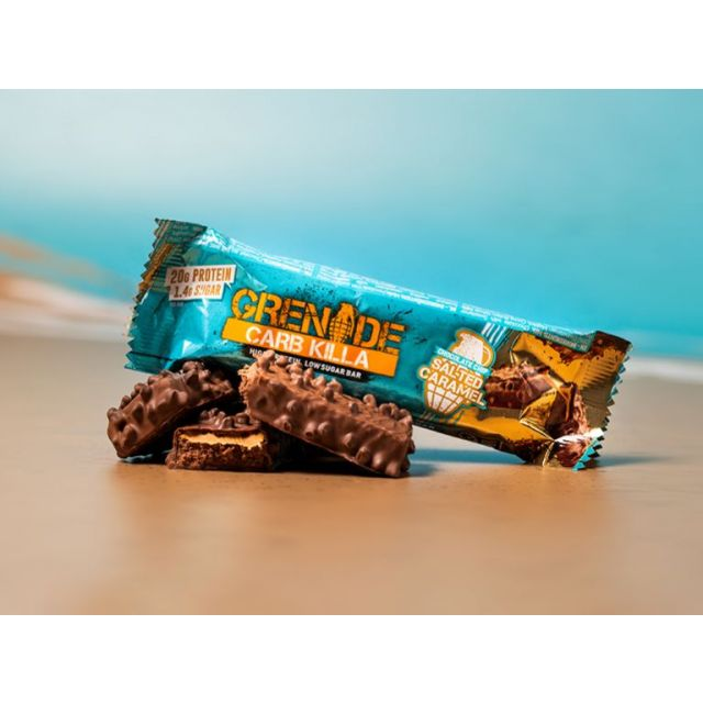 Grenade Carb Killa Bar - Chocolate Chip Salted Caramel