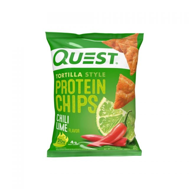Quest Tortilla Chips, Chili Lime