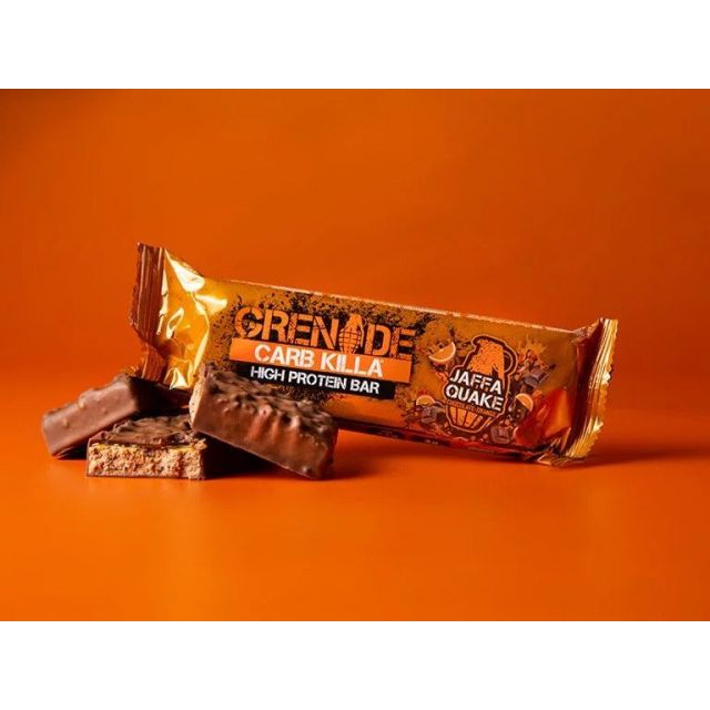 Grenade Carb Killa Bar - Jaffa Quake (Chocolate Orange)