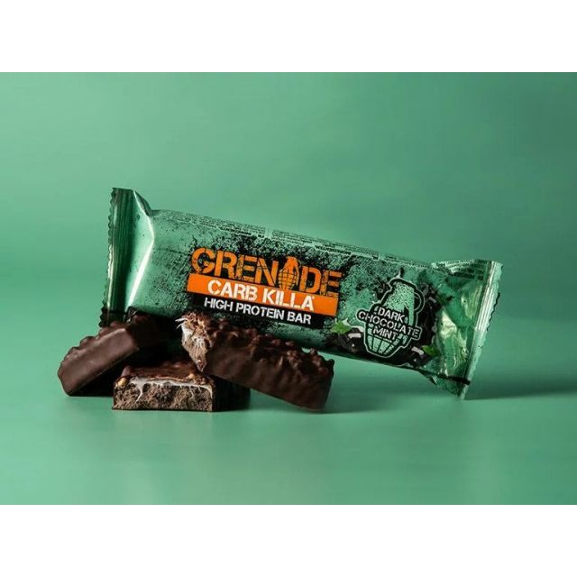 Grenade Carb Killa Bar - Dark Chocolate Mint