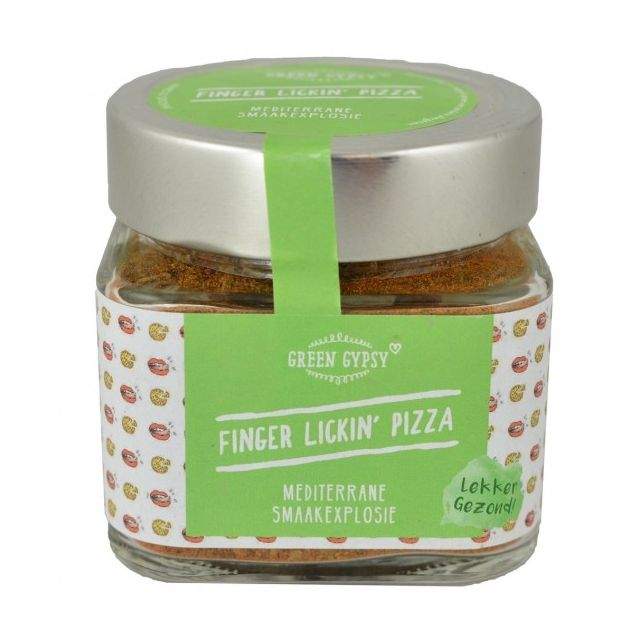 Finger Lickin' Pizza, Green Gypsy Spices