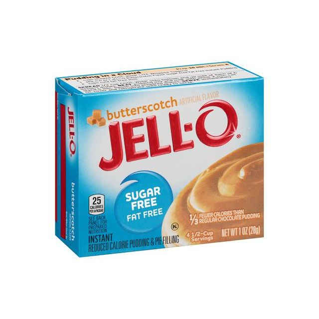 Jello Butterscotch Pudding