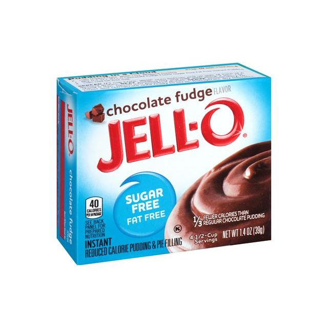 Jello Chocolate Fudge Pudding