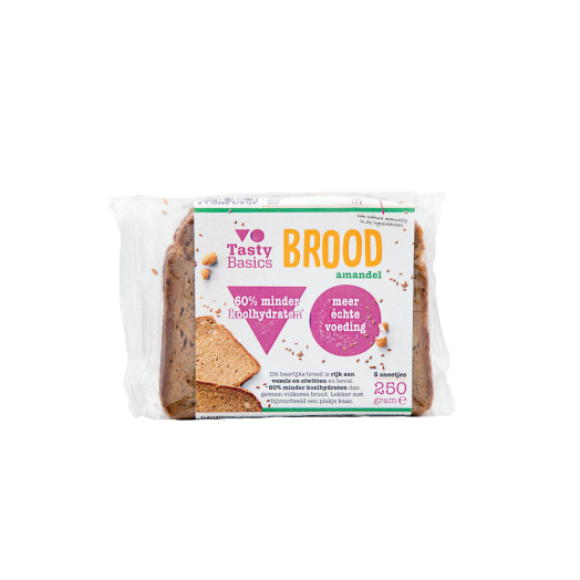 TastyBasics Brood Amandel