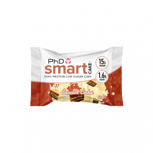 PhD Nutrition Smart Cake Carrot Cake
