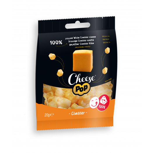 Cheese Pop Snackpack Cheddar Kaas