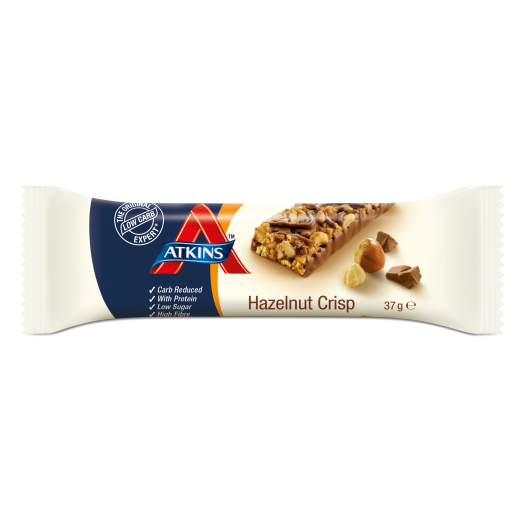 Atkins Day Break Hazelnoot Crunch Reep