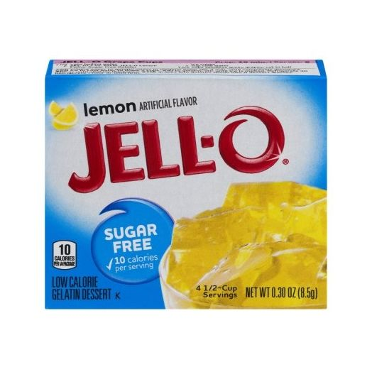 Jello Lemon Gelatine