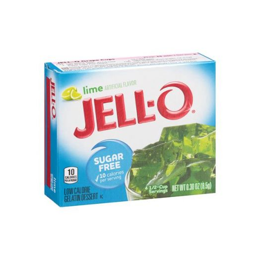 Jello Lime Gelatine