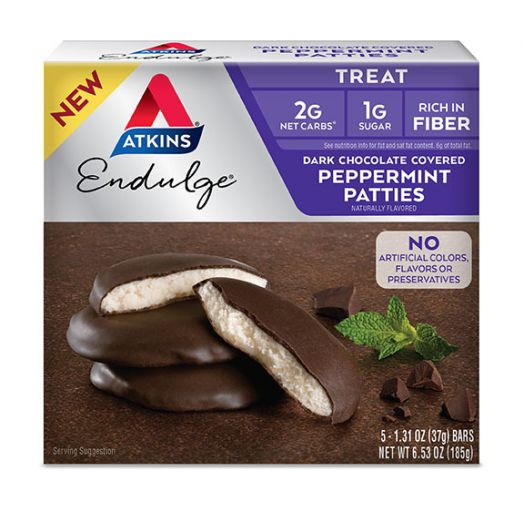 Atkins USA Dark Chocolate Peppermint Patties