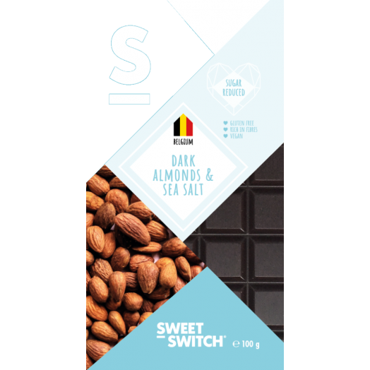 Sweet-Switch - Dark Chocolate Almond & Sea Salt