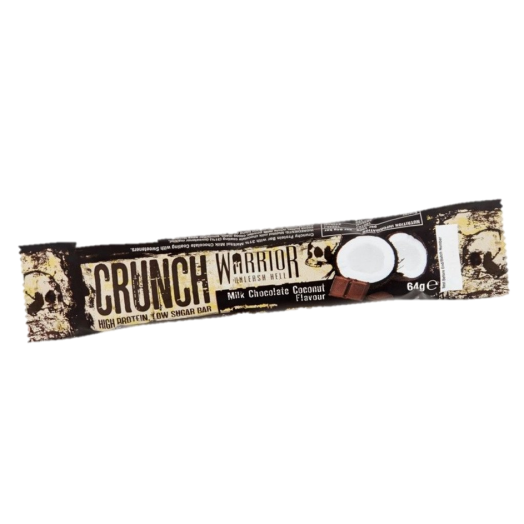 Warrior Crunch Bars - Milk Chocolate Coconut