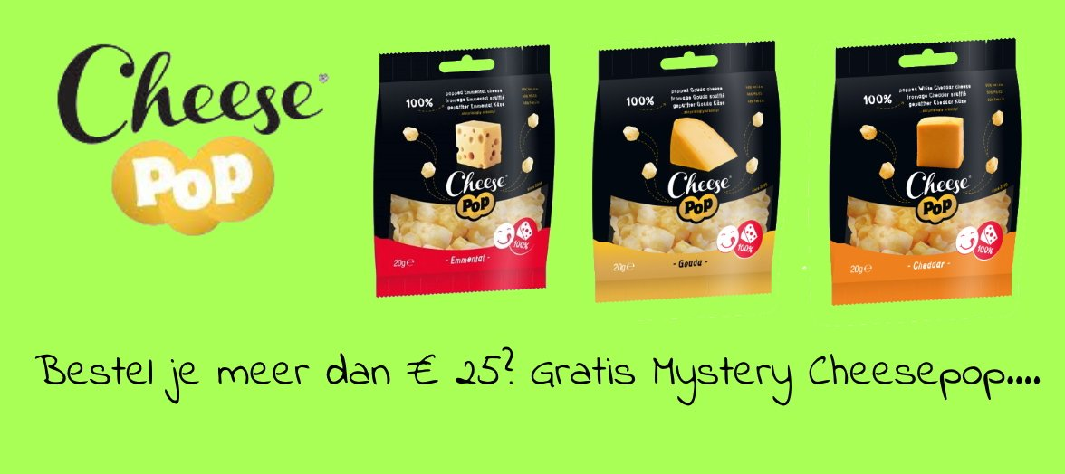 gratis cheesepop mystery product